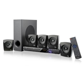 Foto Home Theater Multilaser com DVD 120 W 5.1 Canais Karaokê SP148