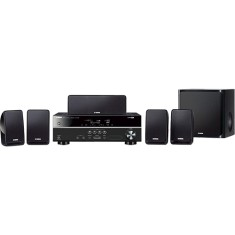Foto Home Theater Yamaha 3D 500 W 5.1 Canais 5 HDMI YHT-1810
