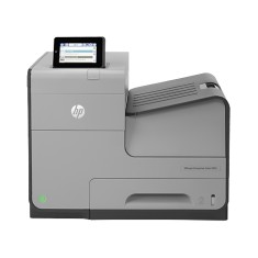 Foto Impressora HP Officejet X555DN Jato de Tinta Colorida