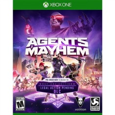 Foto Jogo Agents of Mayhem Xbox One Deep Silver