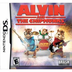 Foto Jogo Alvin and The Chipmunks Brash Entertainment Nintendo DS