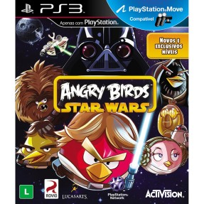 Foto Jogo Angry Birds: Star Wars PlayStation 3 Activision