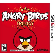 Foto Jogo Angry Birds Trilogy Activision Nintendo 3DS