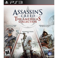 Foto Jogo Assassin's Creed: The Americas Collection PlayStation 3 Ubisoft