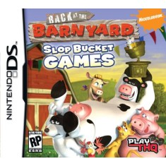 Foto Jogo Back At The Barnyard Slop Bucket Games THQ Nintendo DS