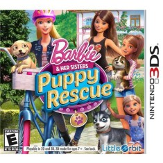 Foto Jogo Barbie and her Sisters Puppy Rescue Little Orbit Nintendo 3DS