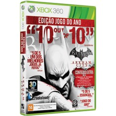 Foto Jogo Batman Arkham City Game of The Year Xbox 360 Warner Bros