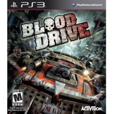 Foto Jogo Blood Drive PlayStation 3 Activision