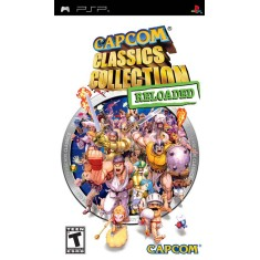 Foto Jogo Capcom Classics Collection Reloaded Capcom PlayStation Portátil