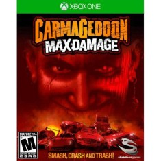 Foto Jogo Carmageddon Max Damage Xbox One Stainless Games