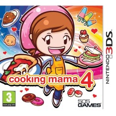 Foto Jogo Cooking Mama 4 505 Games Nintendo 3DS