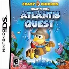 Foto Jogo Crazy Chicken Atlantis Quest MumboJumbo Nintendo DS