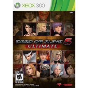 Foto Jogo Dead or Alive 5 Ultimate Xbox 360 Tecmo