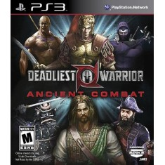 Foto Jogo Deadliest Warrior - Ancient Combat PlayStation 3 Spike