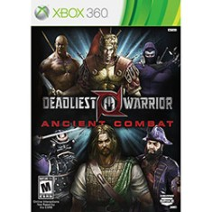 Foto Jogo Deadliest Warrior: Ancient Combat Xbox 360 Spike
