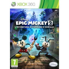 Foto Jogo Disney Epic Mickey 2 : Power Of Two Xbox 360 Disney