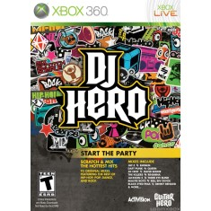 Foto Jogo DJ Hero Xbox 360 Activision
