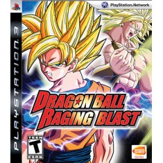 Foto Jogo Dragon Ball: Raging Blast PlayStation 3 Bandai Namco