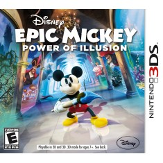 Foto Jogo Epic Mickey; Power of Illusion Disney Nintendo 3DS
