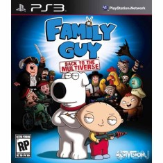 Foto Jogo Family Guy: Back to the Multiverse PlayStation 3 Activision