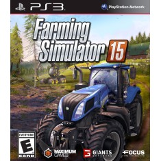 Foto Jogo Farming Simulator 15 PlayStation 3 Focus