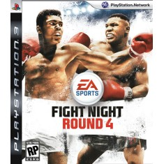 Foto Jogo Fight Night Round 4 PlayStation 3 EA