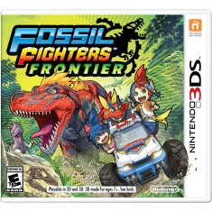 Foto Jogo Fossil Fighters: Frontier Nintendo 3DS
