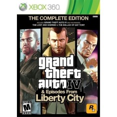 Foto Jogo GTA IV Episodes From Liberty City Xbox 360 Rockstar