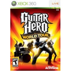 Foto Jogo Guitar Hero World Tour Xbox 360 Activision