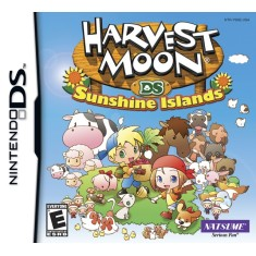 Foto Jogo Harvest Moon Sunshine Islands Natsume Nintendo DS
