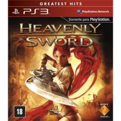 Foto Jogo Heavenly Sword PlayStation 3 Sony