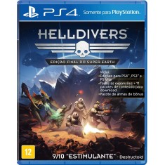 Foto Jogo Helldivers PS4 Arrowhead Game Studios
