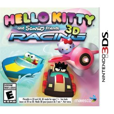 Foto Jogo Hello Kitty and Sanrio Friends 3D Racing Majesco Entertainment Nintendo 3DS