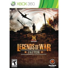 Foto Jogo History Legends of War: Patton Xbox 360 Maximum Family Games