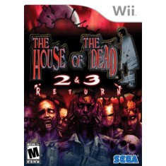 Foto Jogo House of the Dead 2 & 3 Return Wii Sega
