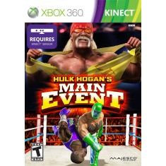 Foto Jogo Hulk Hogan's Main Event Xbox 360 Majesco Entertainment