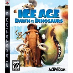 Foto Jogo Ice Age: Dawn of the Dinosaurs PlayStation 3 Activision