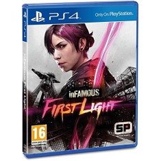 Foto Jogo Infamous First Light PS4 Sucker Punch