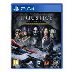 Foto Jogo Injustice Gods Among Us PS4 Warner Bros