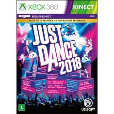 Foto Jogo Just Dance 2018 Xbox 360 Ubisoft