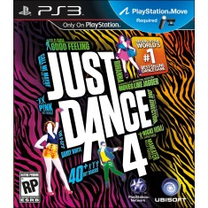 Foto Jogo Just Dance 4 PlayStation 3 Ubisoft