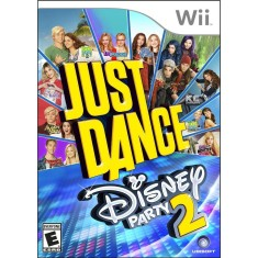 Foto Jogo Just Dance Disney Party 2 Wii Ubisoft