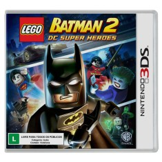 Foto Jogo Lego Batman 2: Dc Super Heroes 3DS Warner Bros Nintendo DS