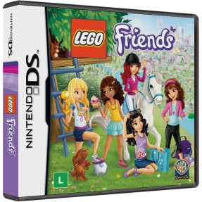 Foto Jogo Lego Friends Warner Bros Nintendo DS