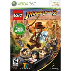 Foto Jogo Lego Indiana Jones 2 The Adventure Continues Xbox 360 LucasArts
