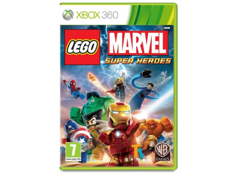 Jogo Lego Marvel Super Heroes Xbox 360 Warner Bros | Comparar preço ...