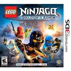 Foto Jogo Lego Ninjago: Shadow Of Ronin Warner Bros Nintendo 3DS