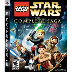 Foto Jogo Lego Star Wars The Complete Saga PlayStation 3 LucasArts