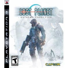 Foto Jogo Lost Planet Extreme Condition PlayStation 3 Capcom