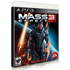 Foto Jogo Mass Effect 3 PlayStation 3 EA